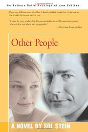 OTHER PEOPLE by Sol Stein