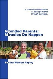 INTENDED PARENTS by Sandra Watson Rapley