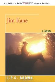 JIM KANE by J. P. S. Brown