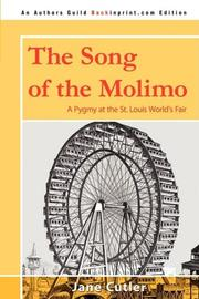 THE SONG OF THE MOLIMO by Jane Cutler