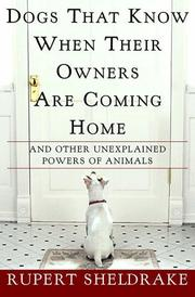 Cover art for DOGS THAT KNOW WHEN THEIR OWNERS ARE COMING HOME
