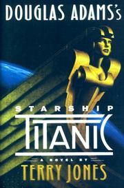 Cover art for DOUGLAS ADAMS'S STARSHIP TITANIC