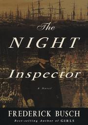 Cover art for THE NIGHT INSPECTOR