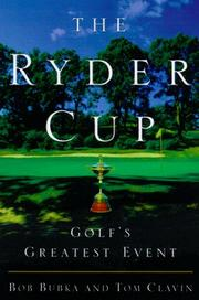 THE RYDER CUP by Bob Bubka