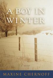 A BOY IN WINTER by Maxine Chernoff