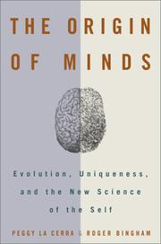THE ORIGIN OF MINDS by Peggy La Cerra