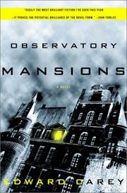 OBSERVATORY MANSIONS by Edward Carey