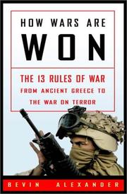 Cover art for HOW WARS ARE WON