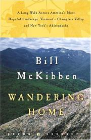 WANDERING HOME by Bill McKibben