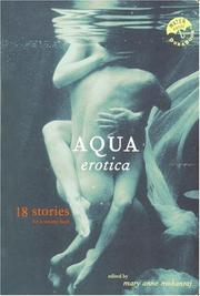 Book Cover for AQUA EROTICA