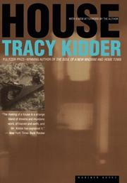 HOUSE by Tracy Kidder