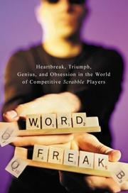 Cover art for WORD FREAK