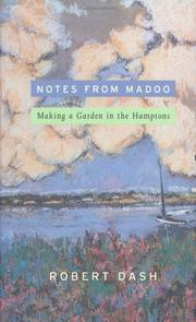 NOTES FROM MADOO by Robert Dash