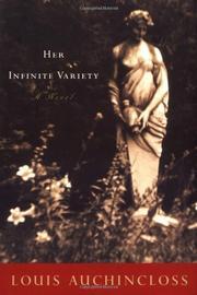 HER INFINITE VARIETY by Louis Auchincloss