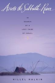 ACROSS THE SABBATH RIVER by Hillel Halkin