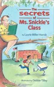 Cover art for THE SECRETS OF MS. SNICKLE'S CLASS