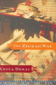 THE ZIGZAG WAY by Anita Desai