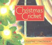 Cover art for CHRISTMAS CRICKET