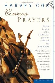 Book Cover for COMMON PRAYERS