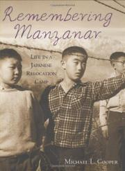 Book Cover for REMEMBERING MANZANAR