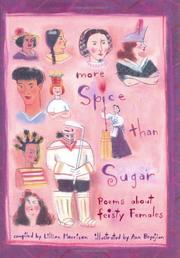 Book Cover for MORE SPICE THAN SUGAR