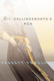 MRS. HOLlINGSWORTH'S MEN by Padgett Powell