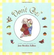 DON'T GO! by Jane Breskin Zalben