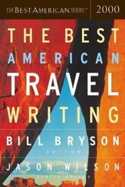 Cover art for THE BEST AMERICAN TRAVEL WRITING 2000