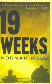 19 WEEKS by Norman Moss