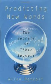 Book Cover for PREDICTING NEW WORDS