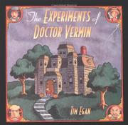 Cover art for THE EXPERIMENTS OF DOCTOR VERMIN