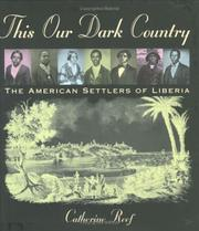 THIS OUR DARK COUNTRY by Catherine Reef