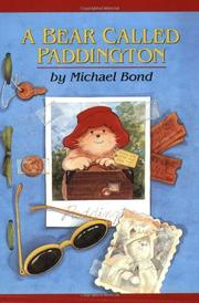 Book Cover for A BEAR CALLED PADDINGTON