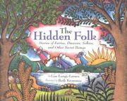 Book Cover for THE HIDDEN FOLK