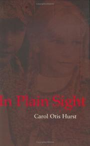 IN PLAIN SIGHT by Carol Otis Hurst