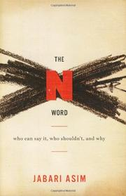 Book Cover for THE N WORD