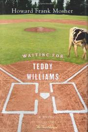 Cover art for WAITING FOR TEDDY WILLIAMS