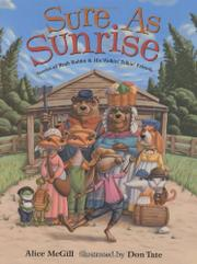 SURE AS SUNRISE by Alice McGill