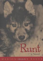 RUNT by Marion Dane Bauer