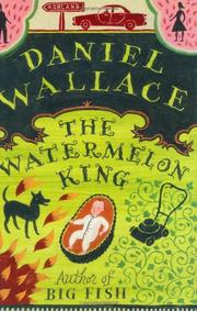 Cover art for THE WATERMELON KING