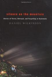 Cover art for SILENCE ON THE MOUNTAIN