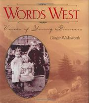WORDS WEST by Ginger Wadsworth