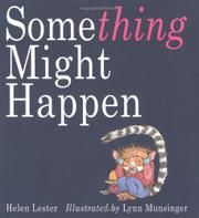 Book Cover for SOMETHING MIGHT HAPPEN