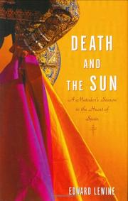 DEATH AND THE SUN by Edward Lewine