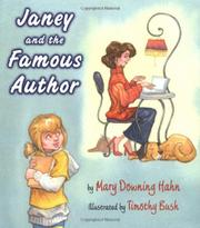 JANEY AND THE FAMOUS AUTHOR by Mary Downing Hahn