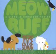 MEOW RUFF by Joyce Sidman