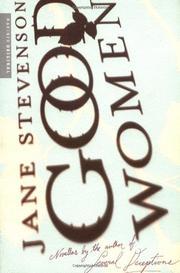 GOOD WOMEN by Jane Stevenson