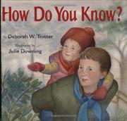 Book Cover for HOW DO YOU KNOW?