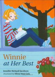WINNIE AT HER BEST by Jennifer Richard Jacobson