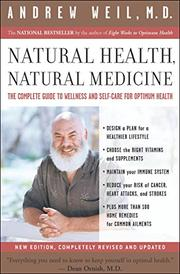 Cover art for NATURAL HEALTH, NATURAL MEDICINE
